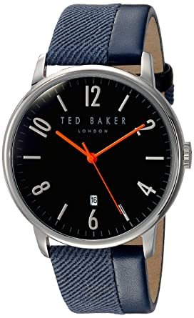 TED BAKER GENTS WATCH BLUE/SILVER