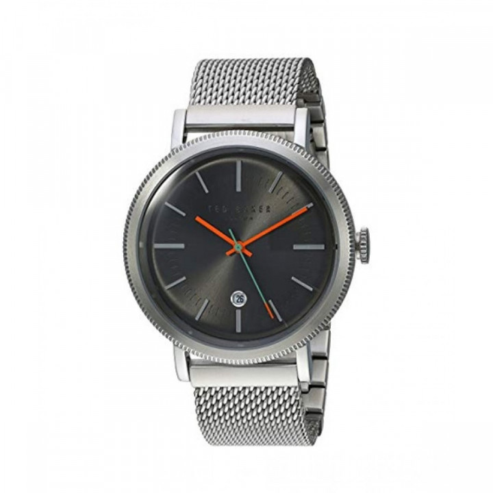 TED BAKER GENTS WATCH SILVER/GREY