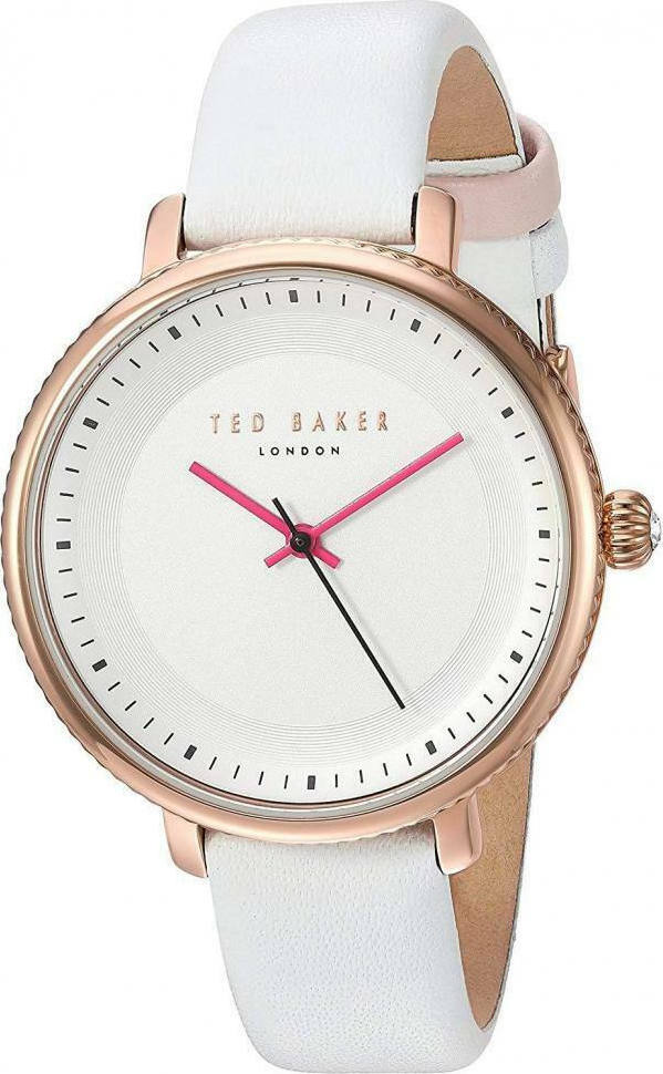 TED BAKER LADIES WATCH WHITE/R.GOLD