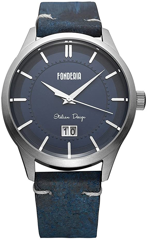 FONDERIA BLUE/SILVER 41mm