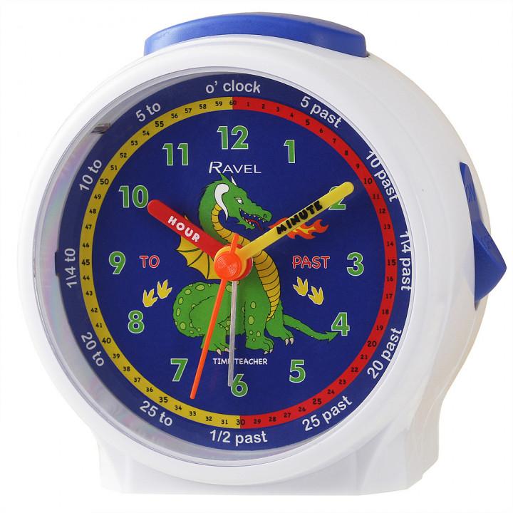 Ravel Dragon Children's Character Alarm Clock white
