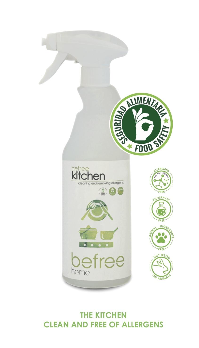 befree kitchen - cleaning and allergen elimination