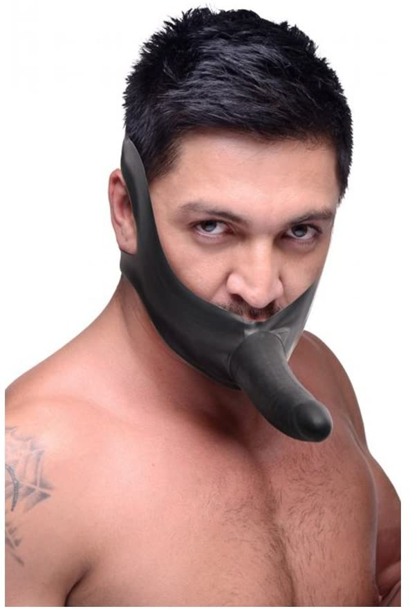 FACE FUC STRAP ON MOUTH GAG