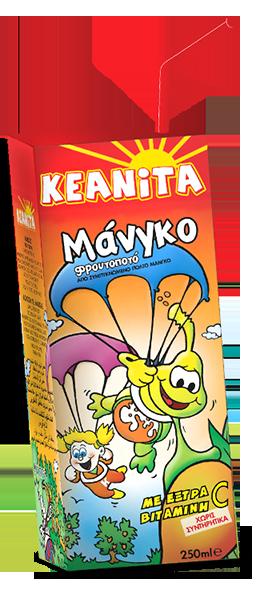 KEANITA MANGO JUICE  250ML