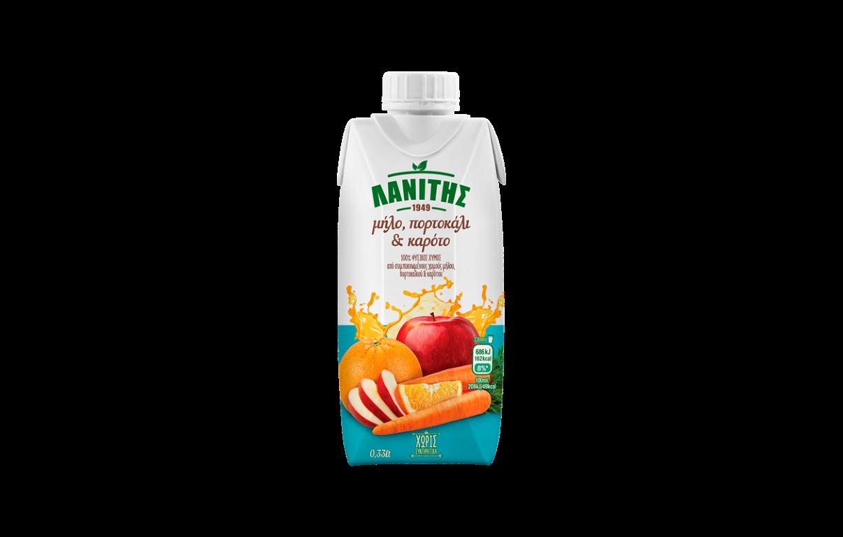 Lanitis Orange,Apricot & Apple 0.25l