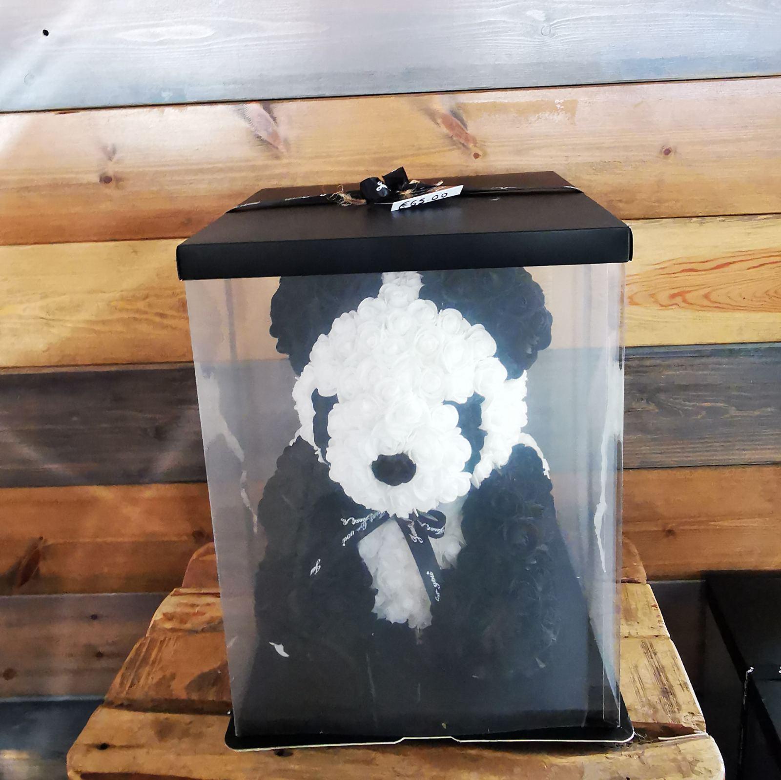 ARTIFICIAL PANDA BLACK & WHITE BIG SIZE