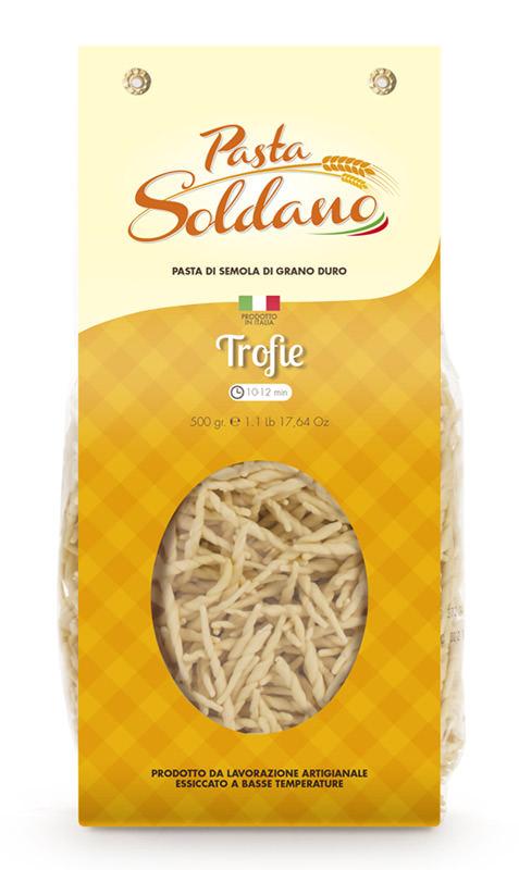 Pasta Soldano Trofie 500g