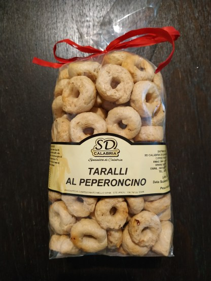 SD Calabria Taralli with chili red pepper 500g