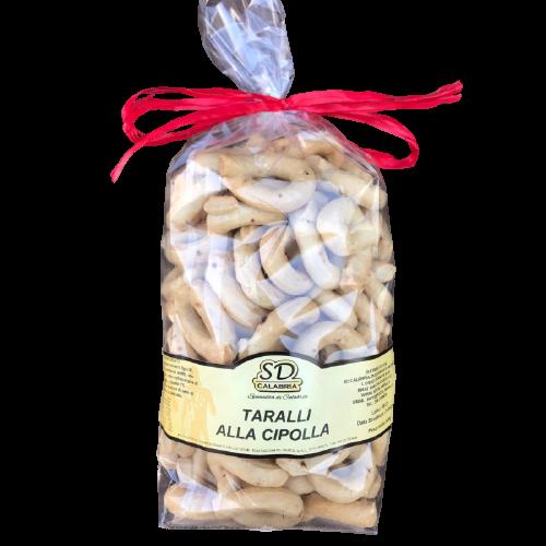 SD Calabria Taralli with onion 500g