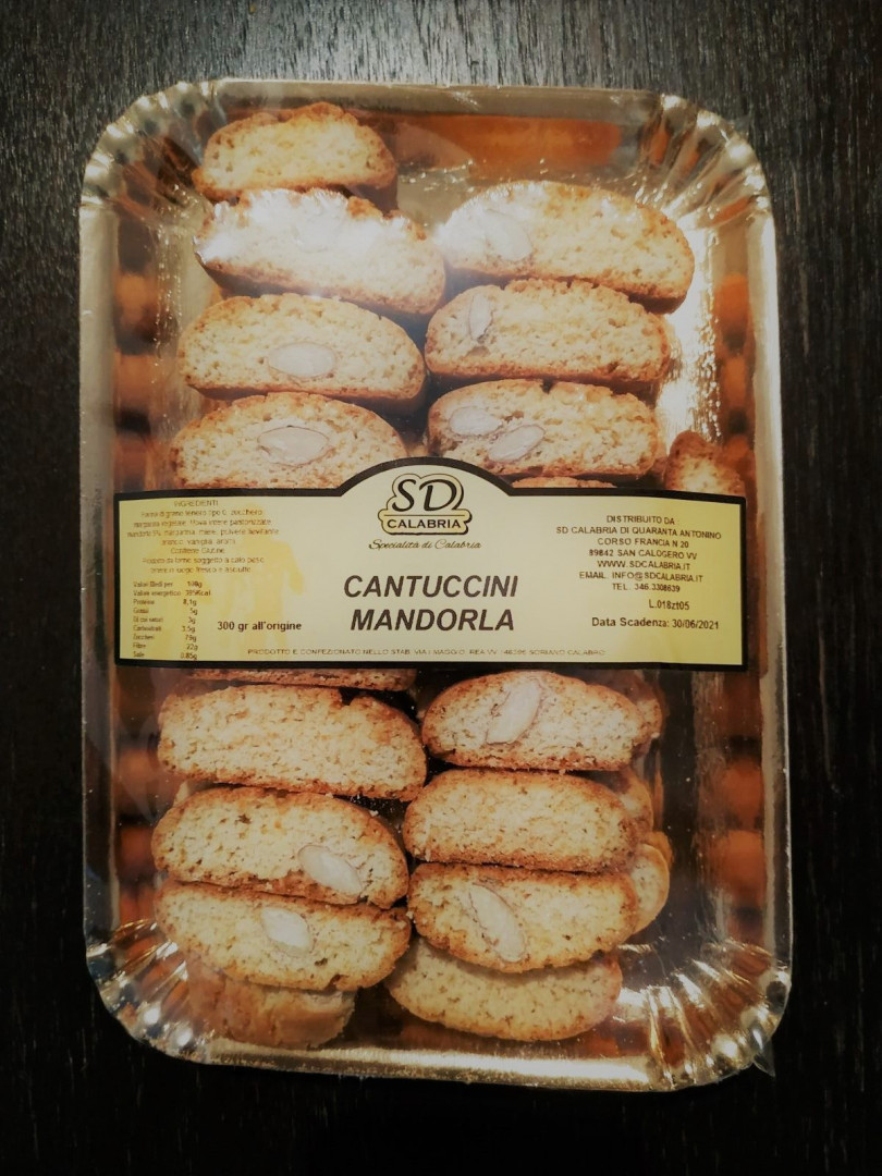 Calabria Almond Cantuccini cookies 300g