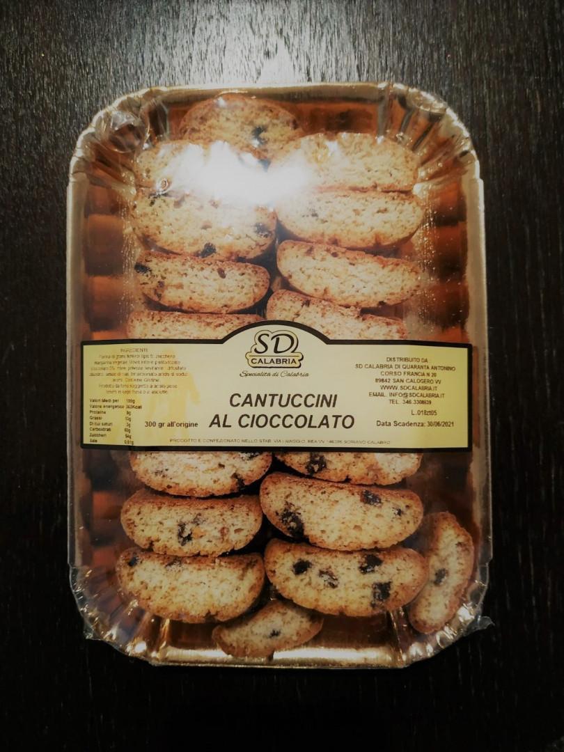 SD Calabria Chocolate Cantuccini 300g