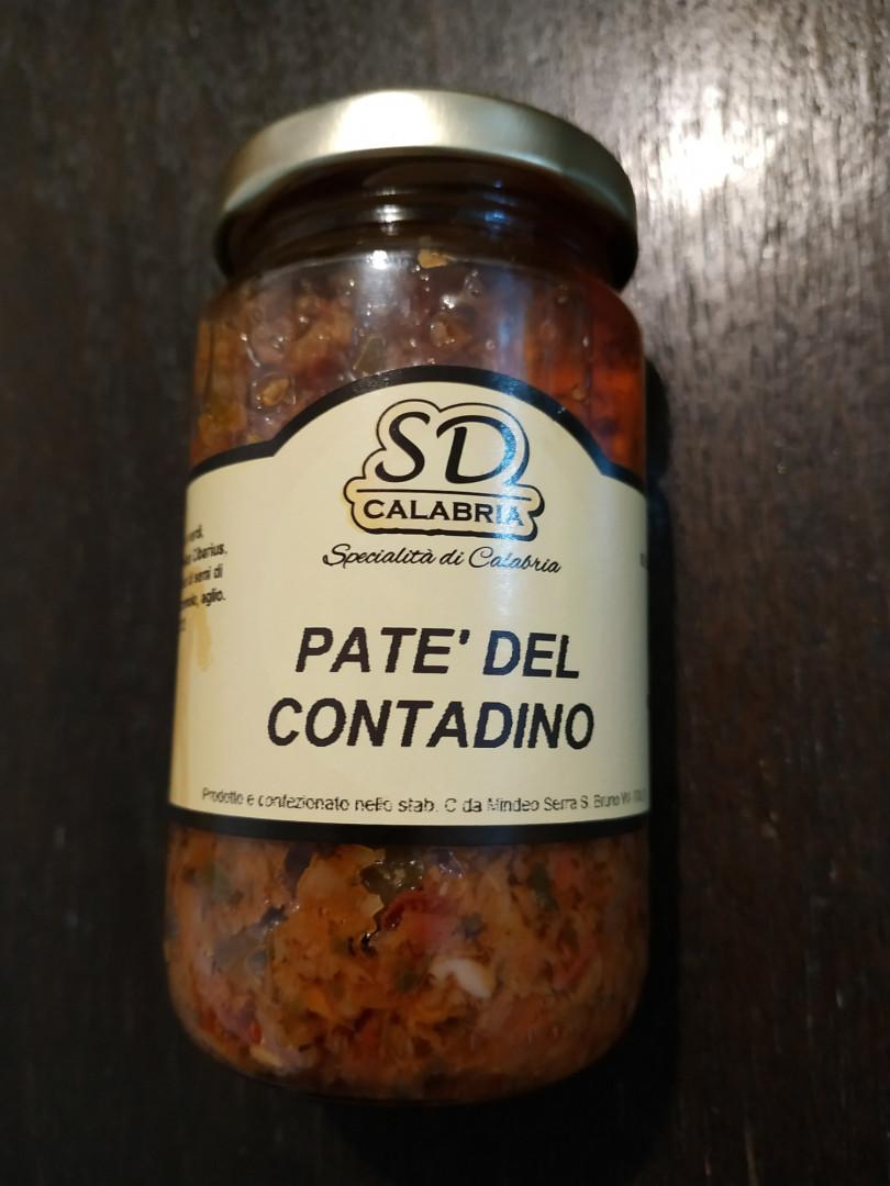 SD Calabria Farmer Patè 212gr