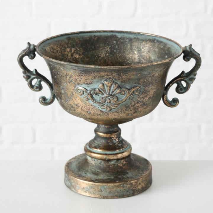 plan pot metal antique iron 21cm