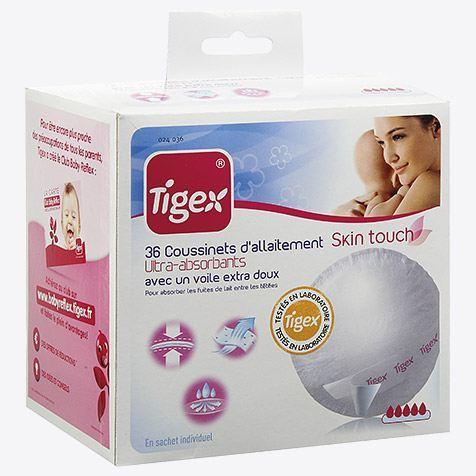 Tigex breastfeeding pads EXTRA x 36