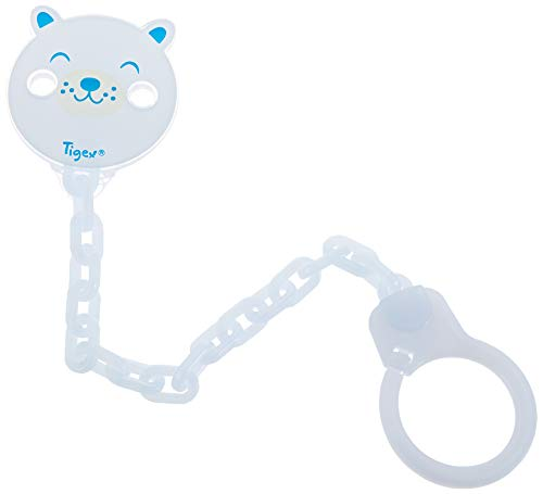 Tigex universal pacifier chain clip boy