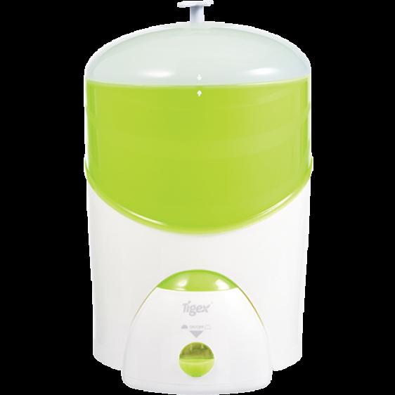 Tigex electric steriliser for 8 feeding bottles Express 6 min white-light green