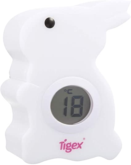 Tigex ''My rabbit temperature nightlight'' white