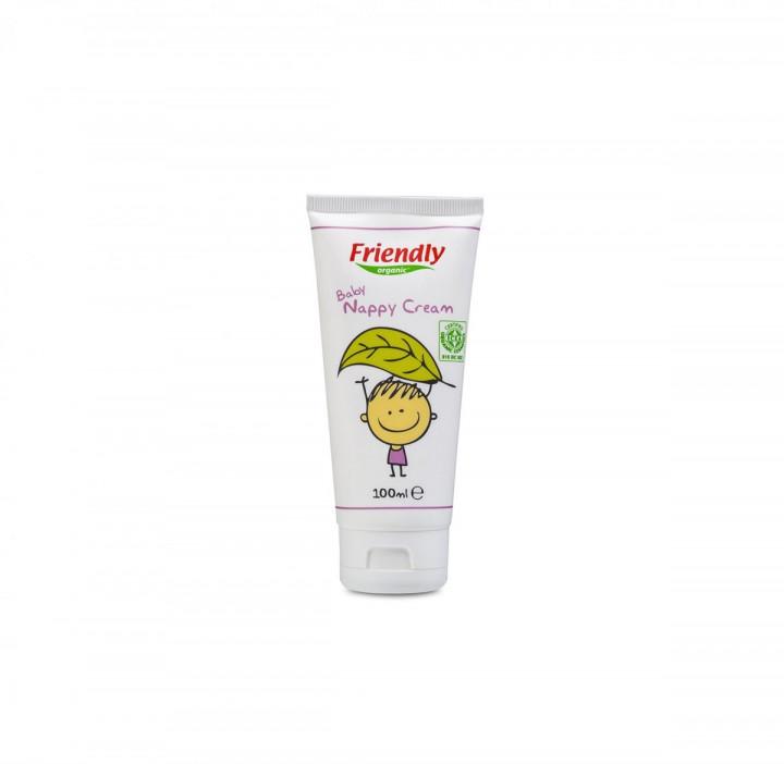 Friendly Organic Baby Nappy cream 100ml