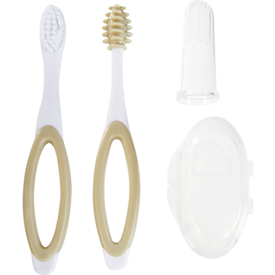 Tigex set of 3 tooth brushes