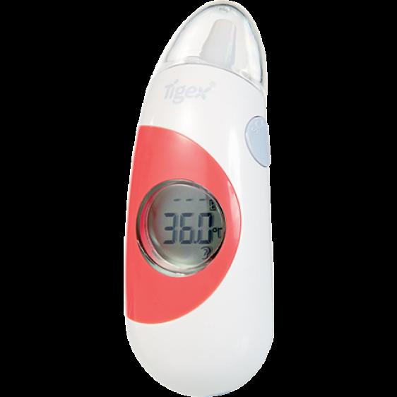 Tigex multi-future thermometer white orange