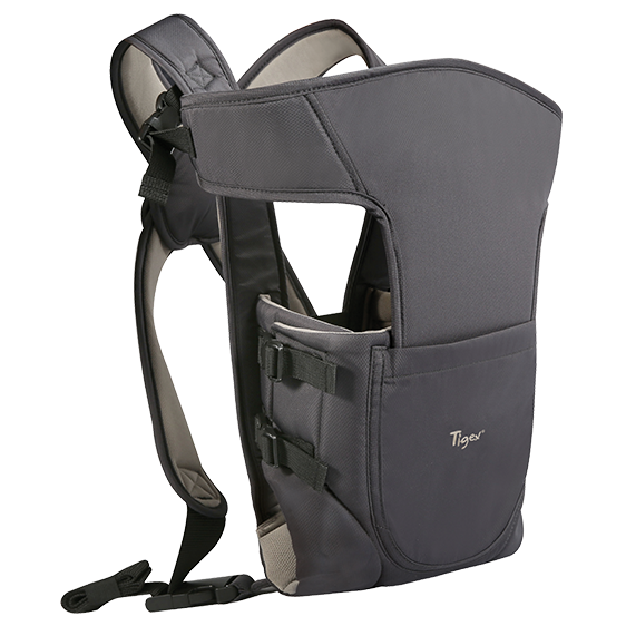 Tigex baby carrier 2 positions dark grey