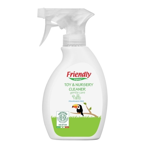 Friendly Organic Toy and Nursery cleaner fragrance free 250 ml