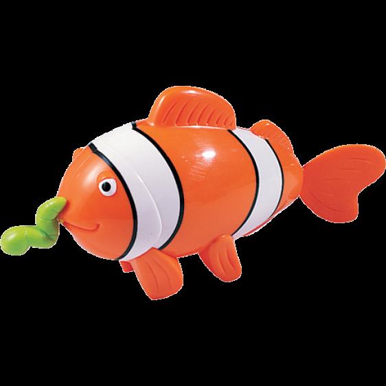 Tigex bath toy swimmining clown fish