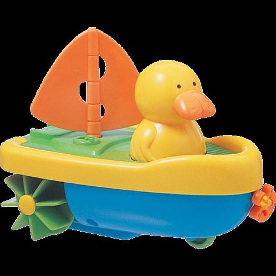 Tigex bath toy cap' tain duck