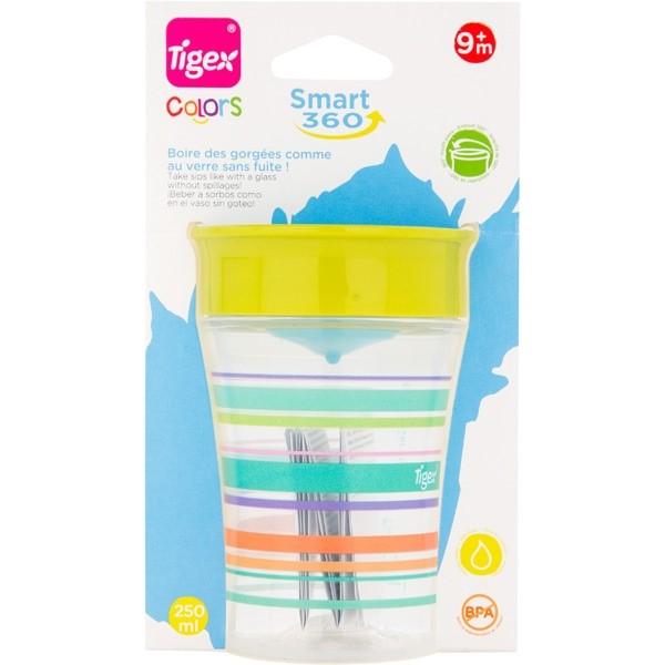 Tigex smart cup 250 ml Leak-proof +9 m