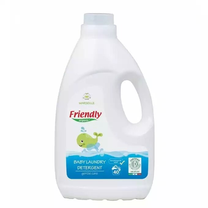 Friendly Organic baby laundry detergent Marseille 2L 40 washes