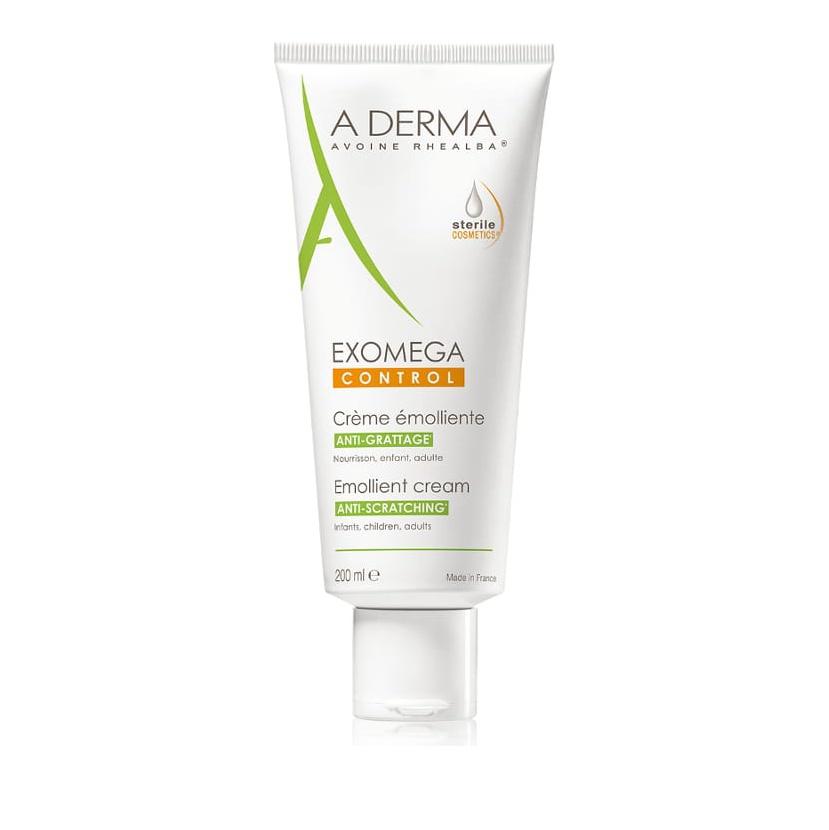 Aderma Exomega Control Emollient Cream Anti-Scratching Sterile 200ml