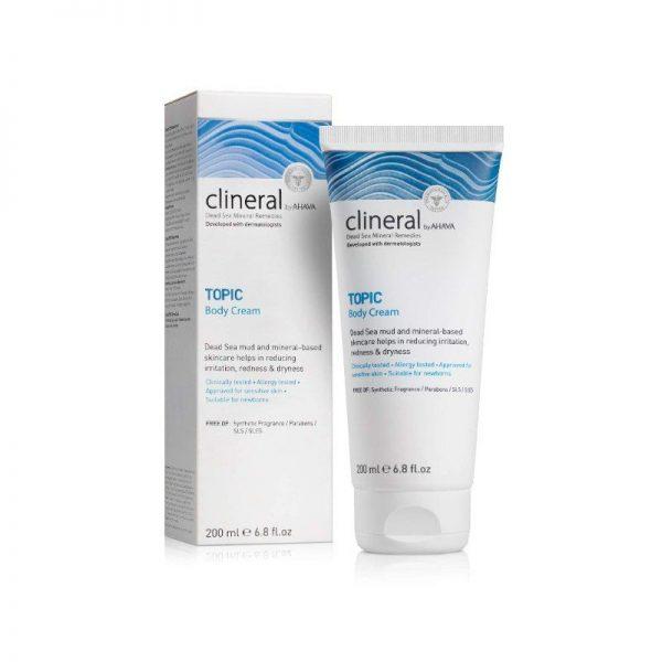 AHAVA CLINERAL TOPIC Body Cream 200ml