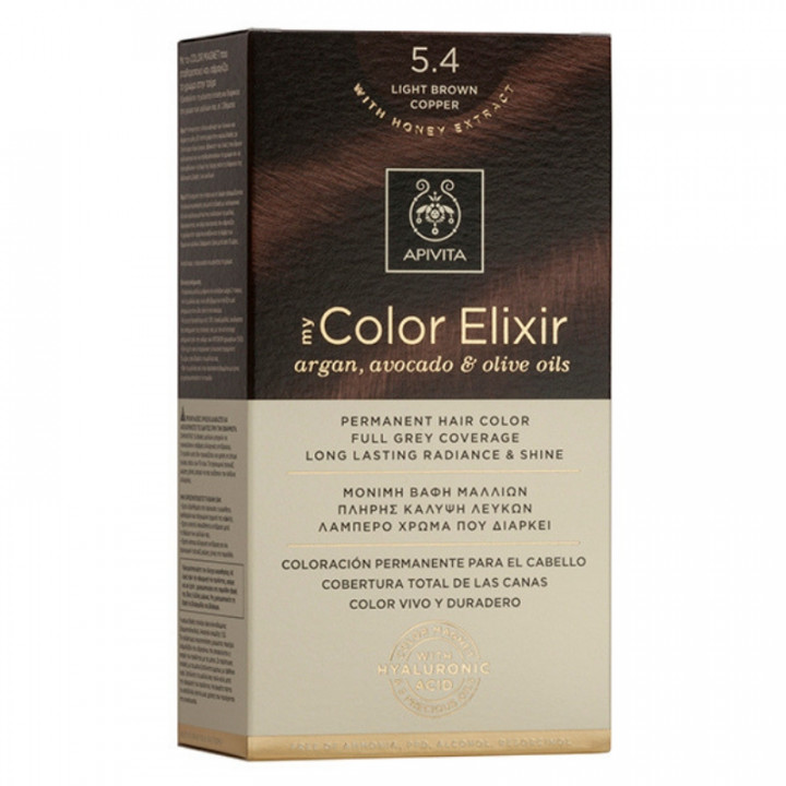 APIVITA My Color Elixir No.5.4 - Light Brown Copper
