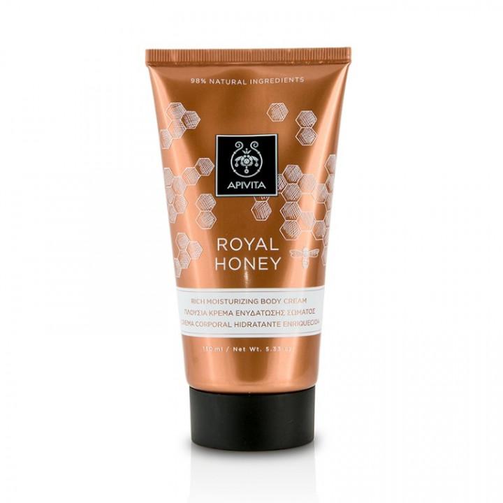 Apivita Royal Honey Rich Moisturizing Body Cream 150ml