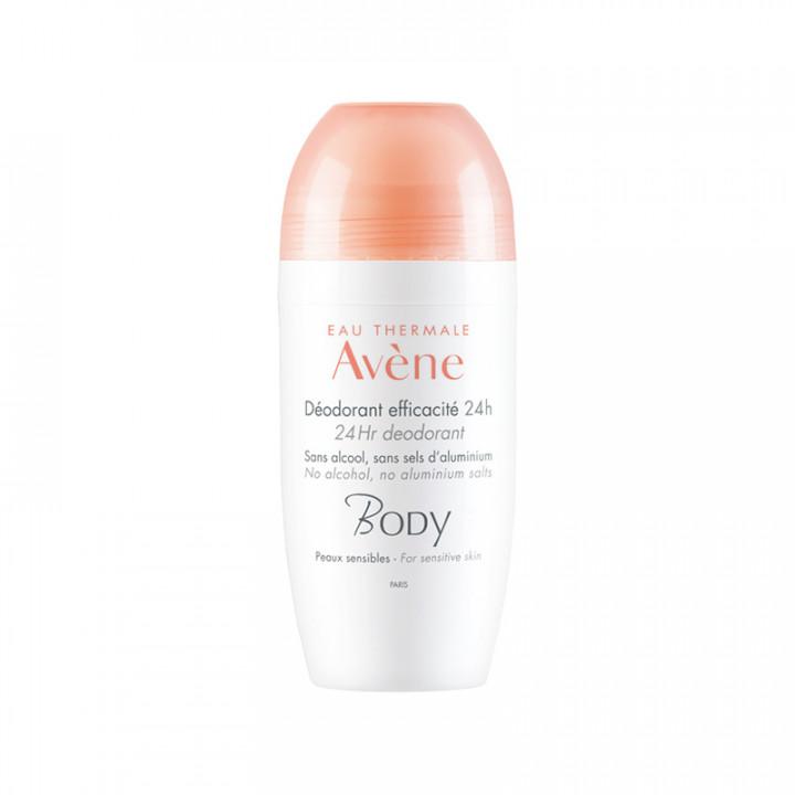 AVENE Body Deodorant Efficacite 24h Roll-On 50ml