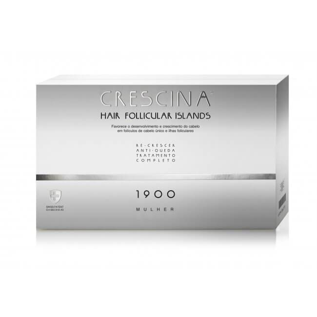 LABO CRESCINA HAIR FOLLICULAR ISLANDS, ANTI- HAIR LOSS& RE- GROWTH, COMPLETE HAIR TREATMENT FOR WOMEN 1900 10+10VIALS