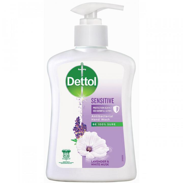 Dettol Antibacterial Sensitive Liquid Hand wash 250ml