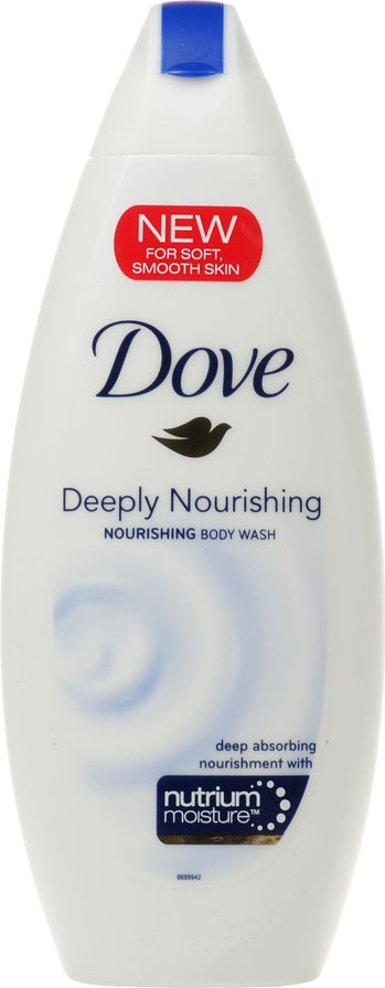 DOVE 1+1 NORMAL BODY WASH 250ml