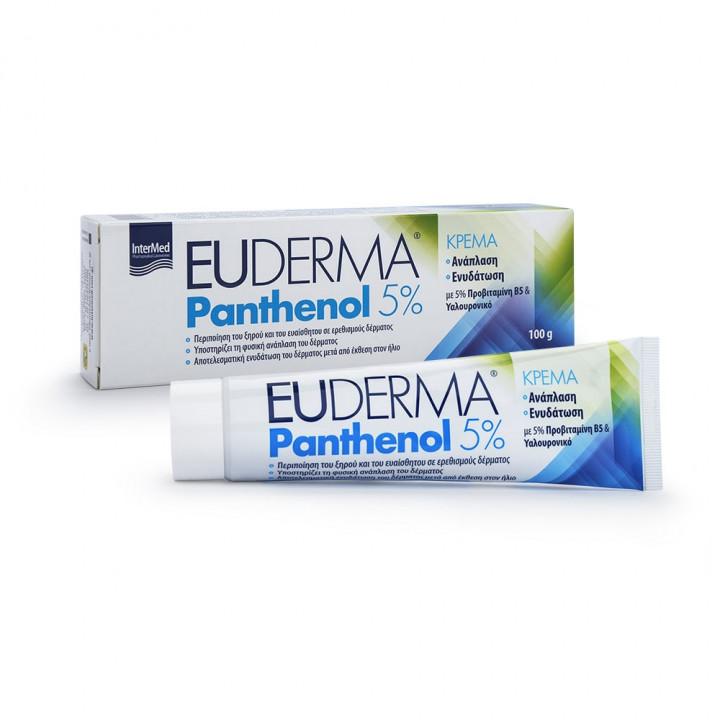 EUDERMA INTERMED PANTHENOL 5% CREAM 100g