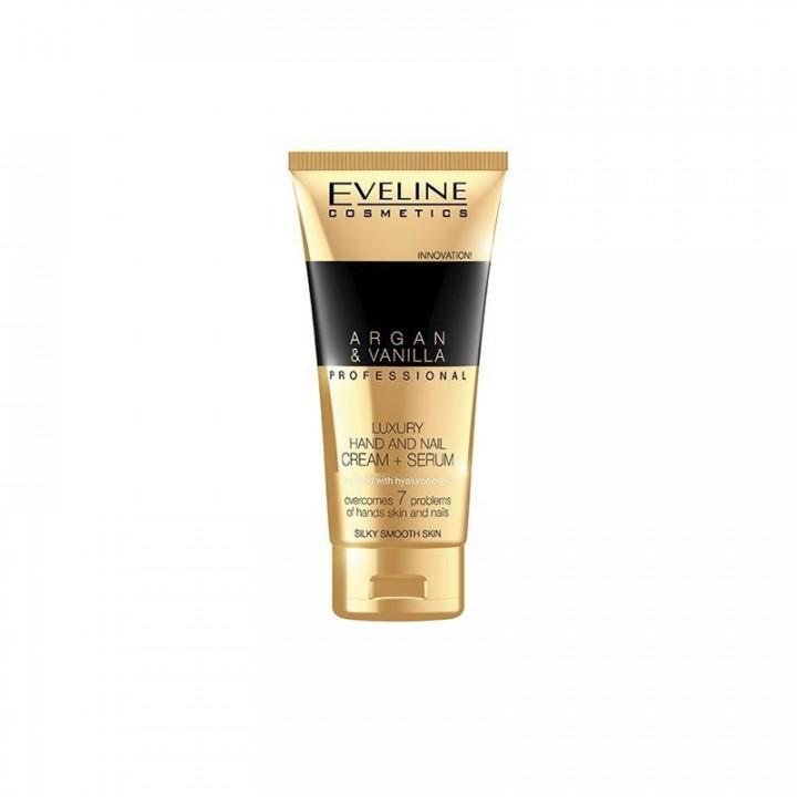 EVELINE Hand & Nail Spa Cream + Serum Argan & Vanilla 150ml