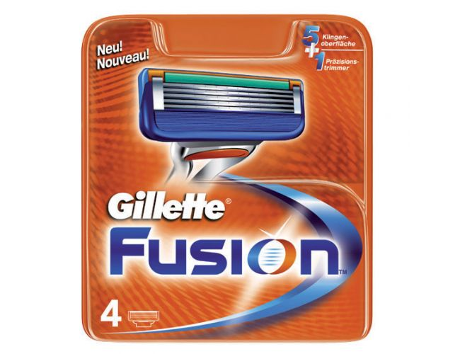 Gillette Fusion5 Shaft Replacement Heads 4 pieces