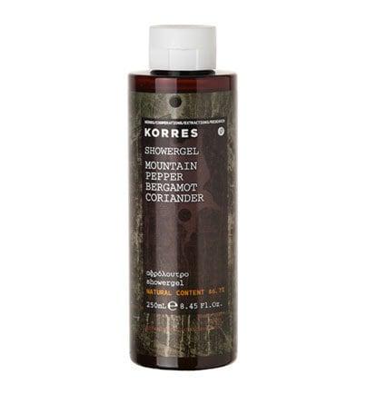 Korres Mountain Pepper Shower Gel 250ml