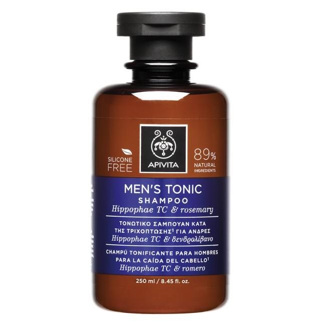 Apivita Shampoo Tonic Men HippophaeTC & Rosemary Shampoo 250ml