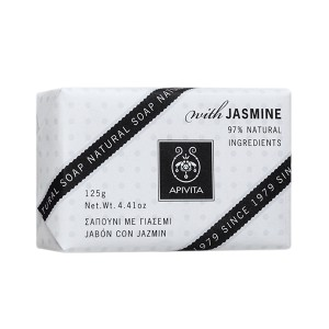 Apivita Natural Soap Soap with Jasmine for relaxation 125gr