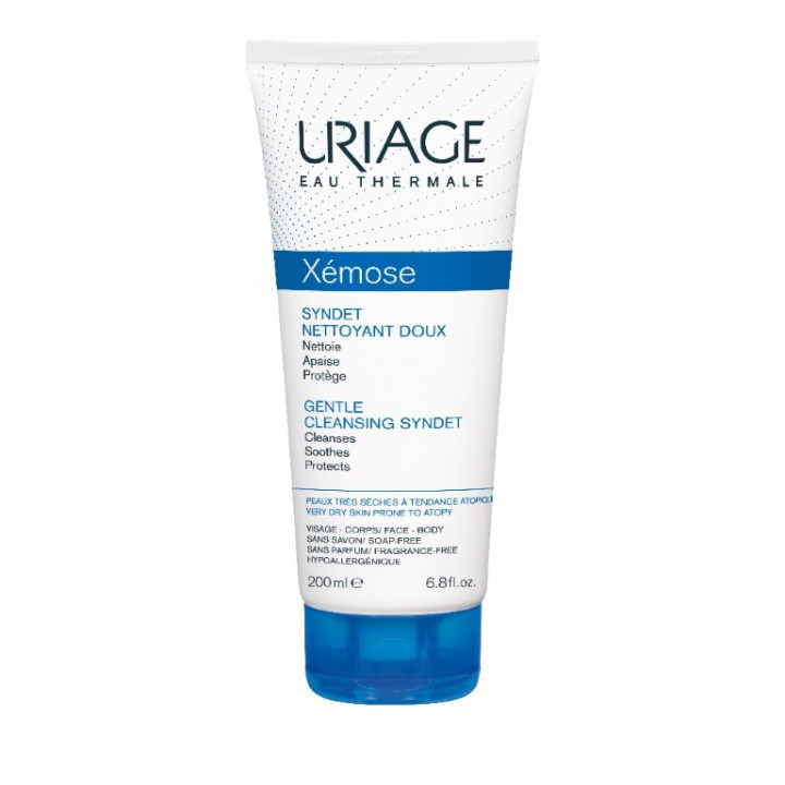 Uriage Xemose Syndet Gentle Soothing Cleanser for Atopic Skin 200ml