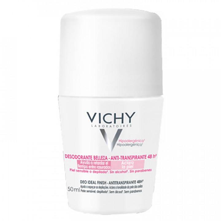 Vichy Deodorant Ideal Finish Roll On 48h 50ml