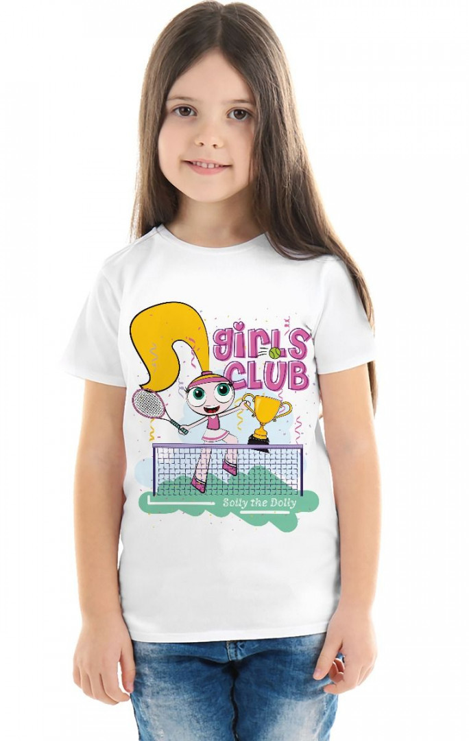 Solly the Dolly Tennis Tshirt - 8 years