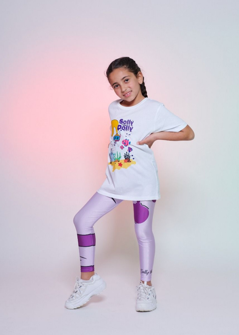 Trademark Solly Purple Kids - 4 years