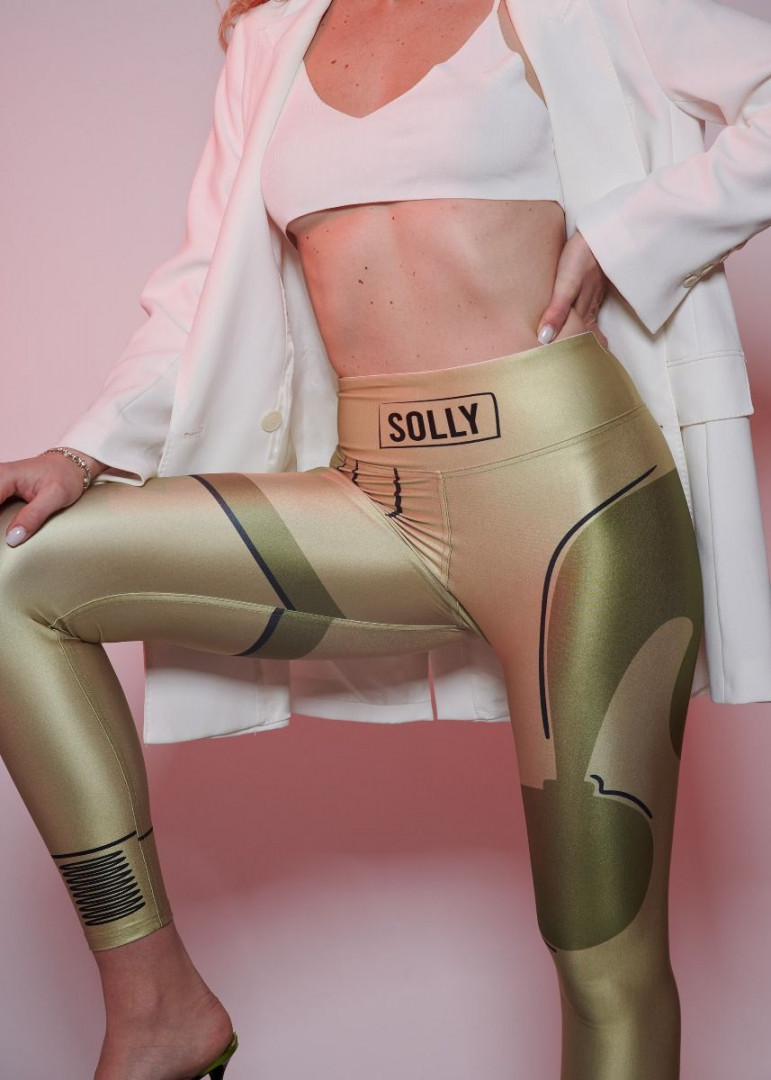 Trademark Solly Gold L