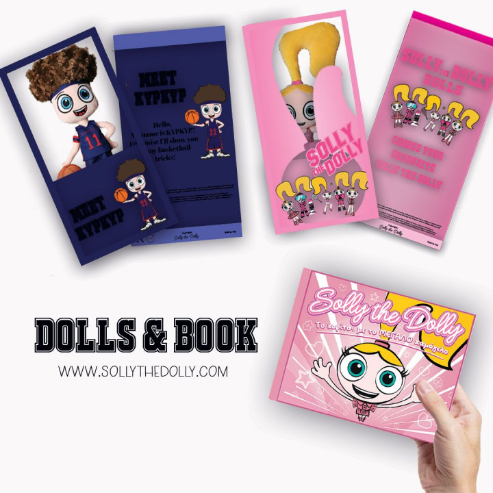 Special Offer Solly the Dolly Doll/Snowboard